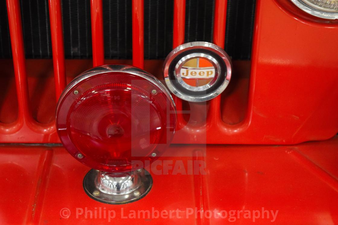 """Vintage Jeep"" stock image"