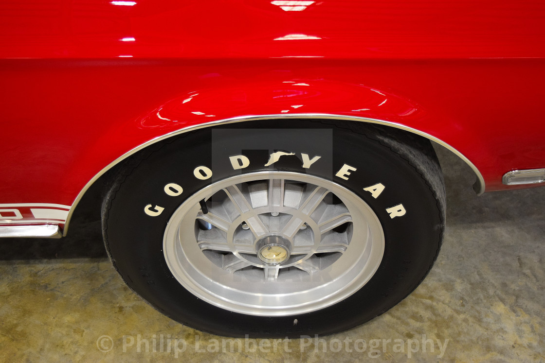 """""""Mustang Shelby Cobra 500"""" stock image"""