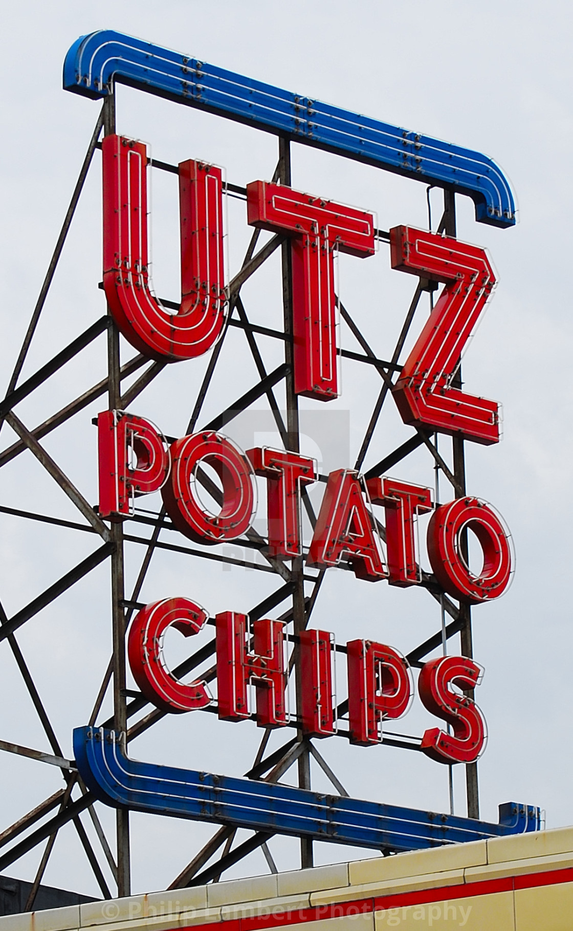 """Utz Potato Chips"" stock image"