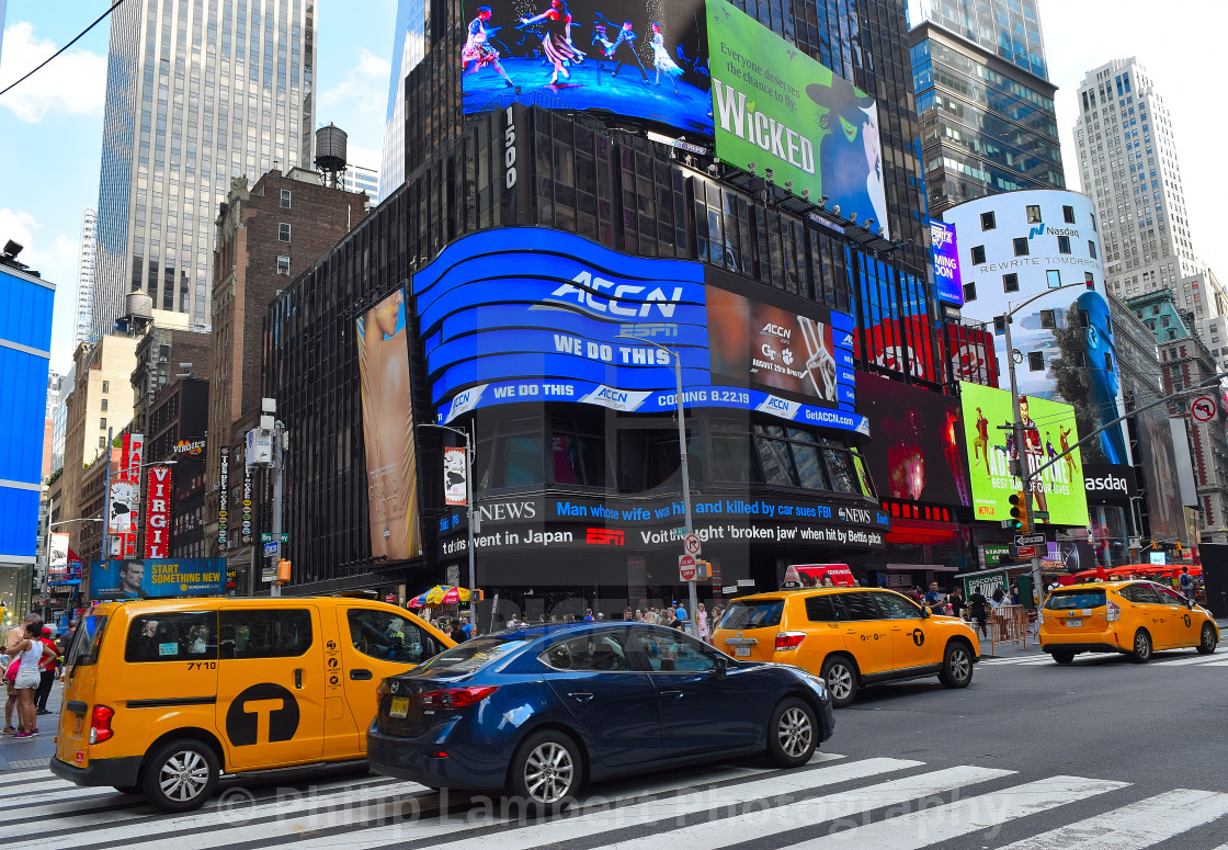 """""""Times Square, New York, New York 2019"""" stock image"""
