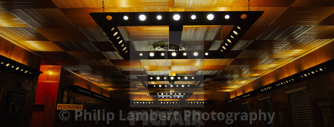 """Mid-Century Modern Lighting"" stock image"