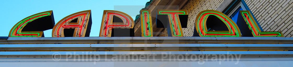 """Capitol Theatre"" stock image"