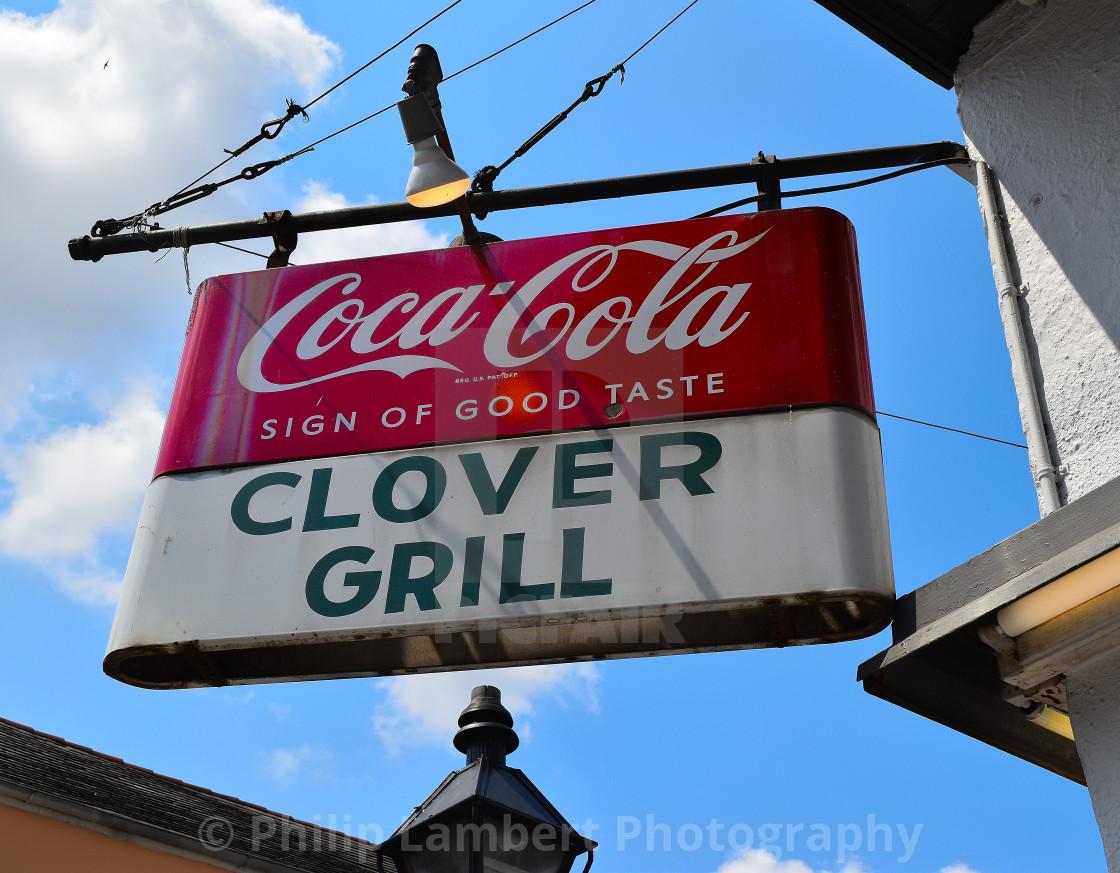 """Clover Grill Nola"" stock image"