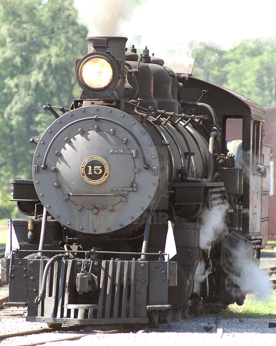 """Pennsylvania 6-5000 Train"" stock image"