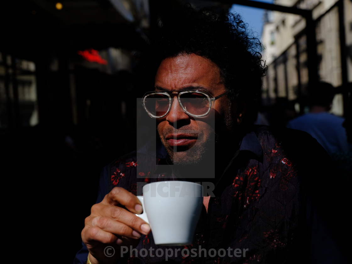 """cafe de flore"" stock image"