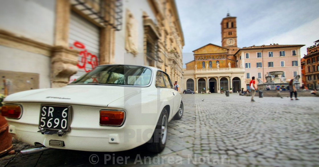 """It's a classic Alfa"" stock image"