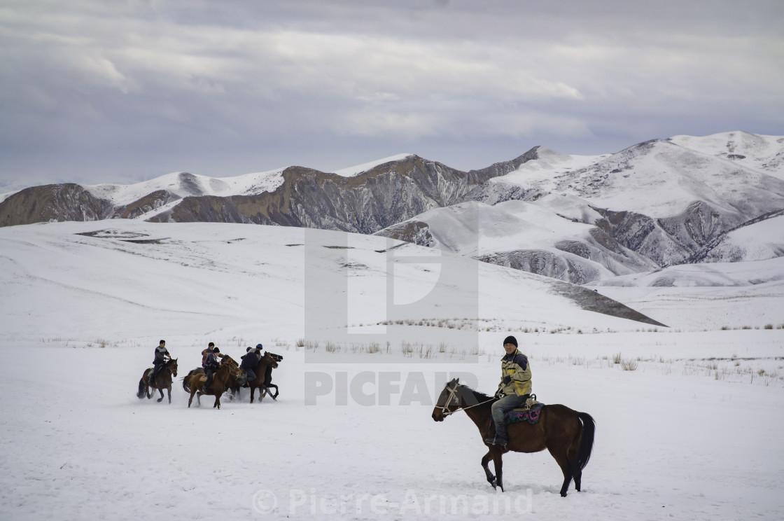 """Horse rider"" stock image"
