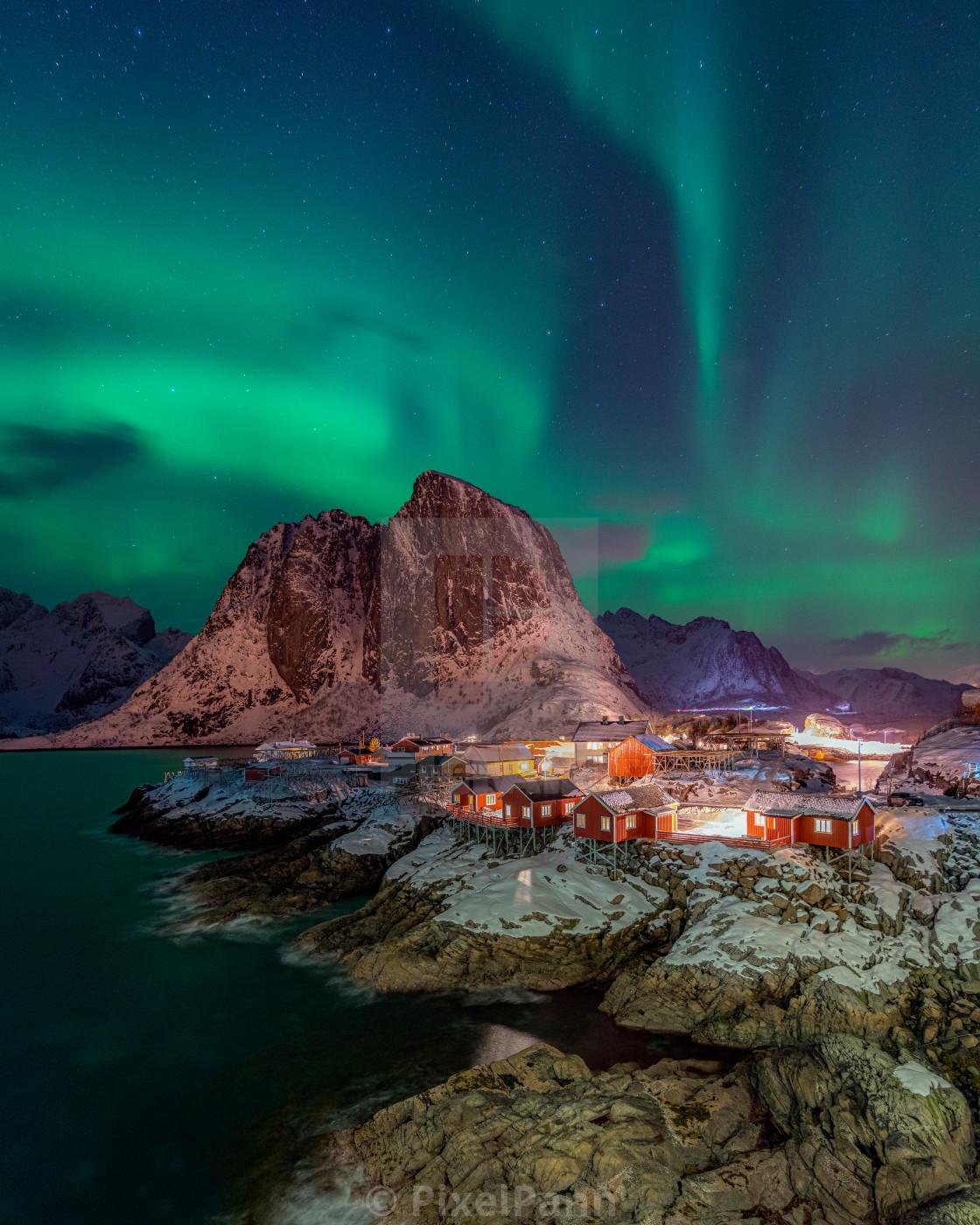 """""""Arctic Aurora"""" stock image"""