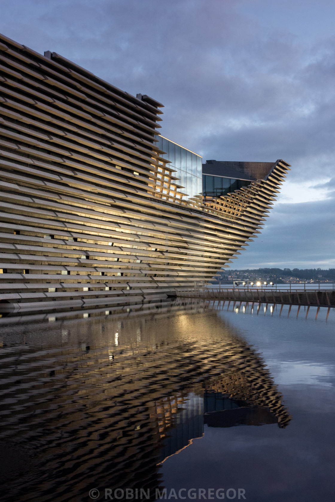 """V&A Museum, Dundee"" stock image"
