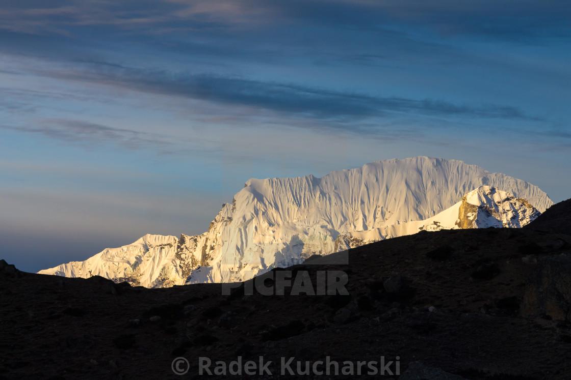 """""""Karyolung at sunrise"""" stock image"""