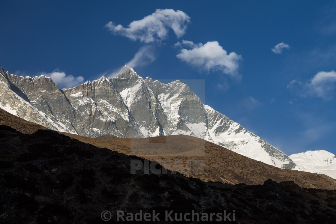 """Lhotse South Face"" stock image"
