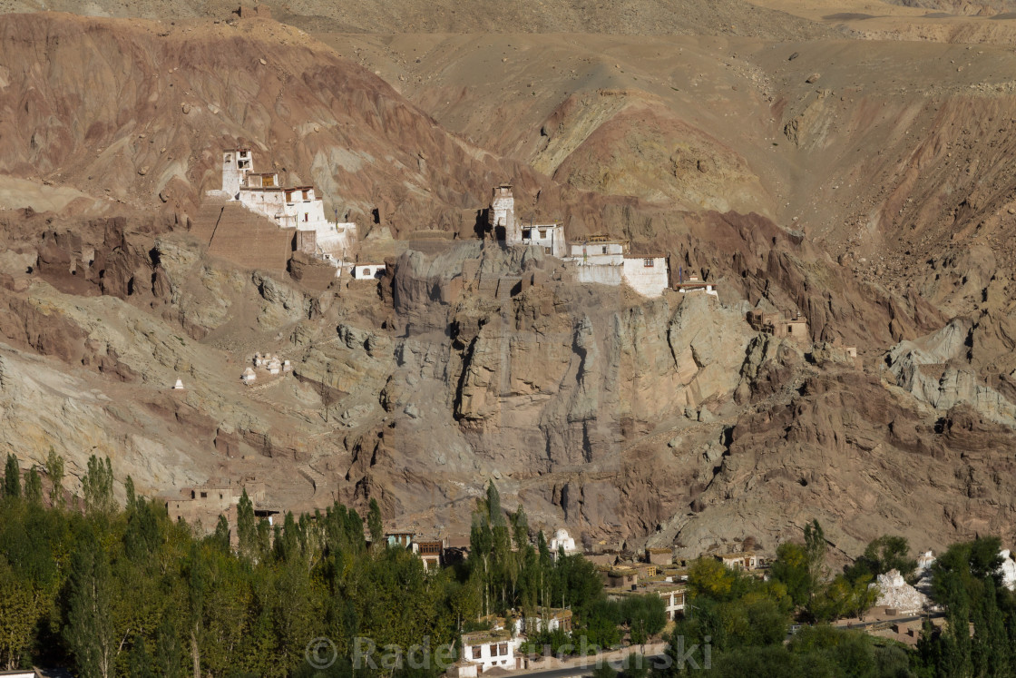 """Monastery in Basgo. Indus Valley, Ladakh."" stock image"