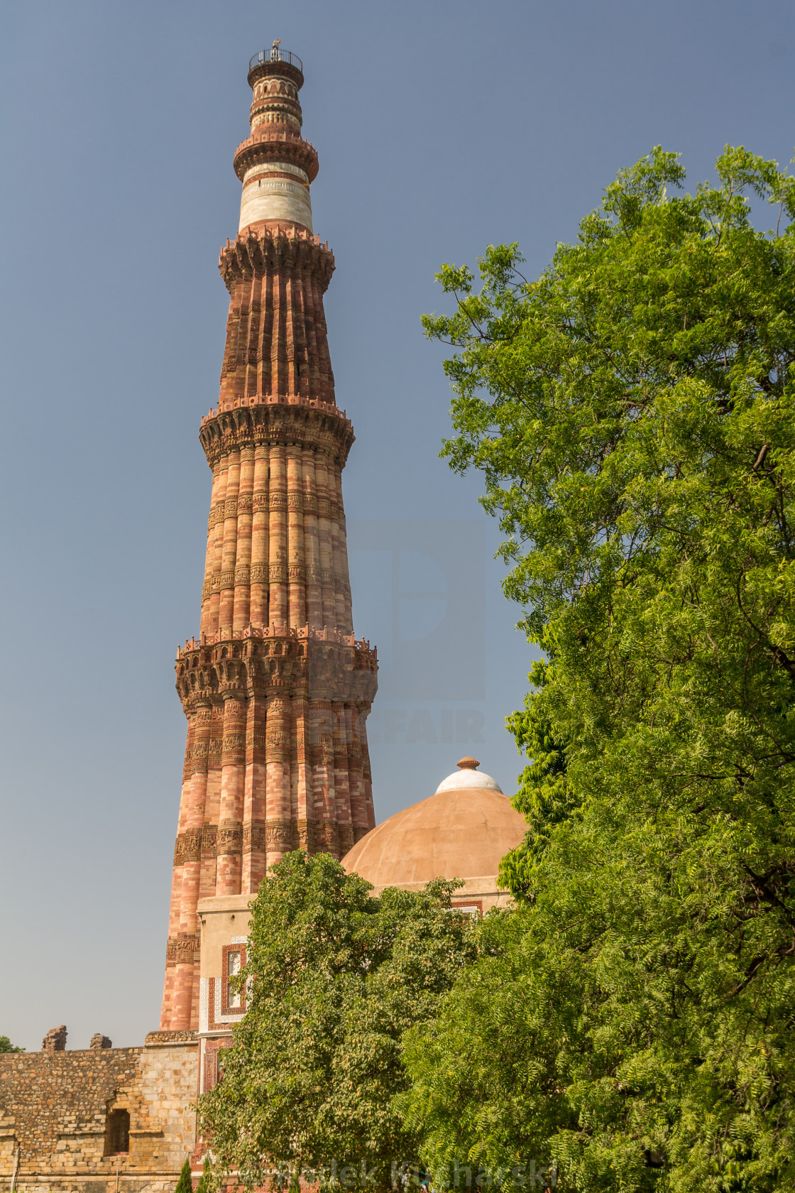 """Qutb Minar in Delhi"" stock image"