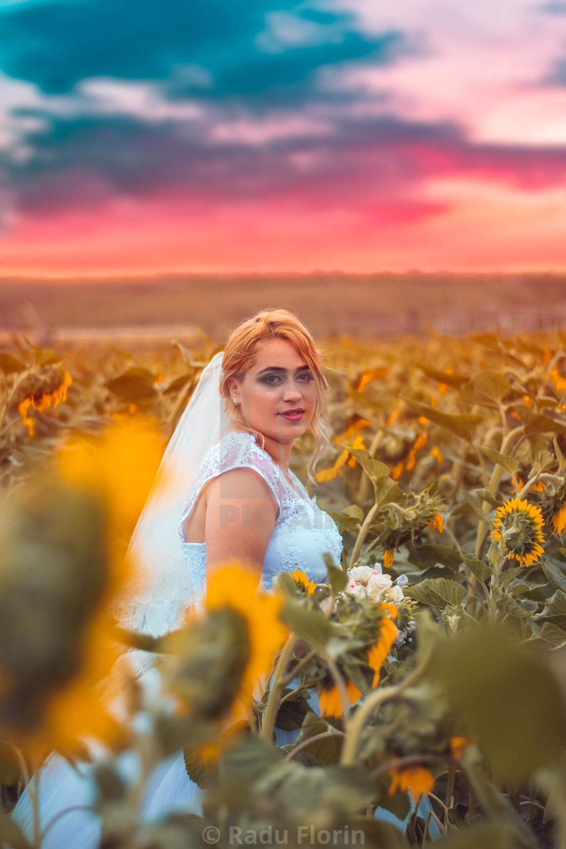 """Wedding portrait"" stock image"