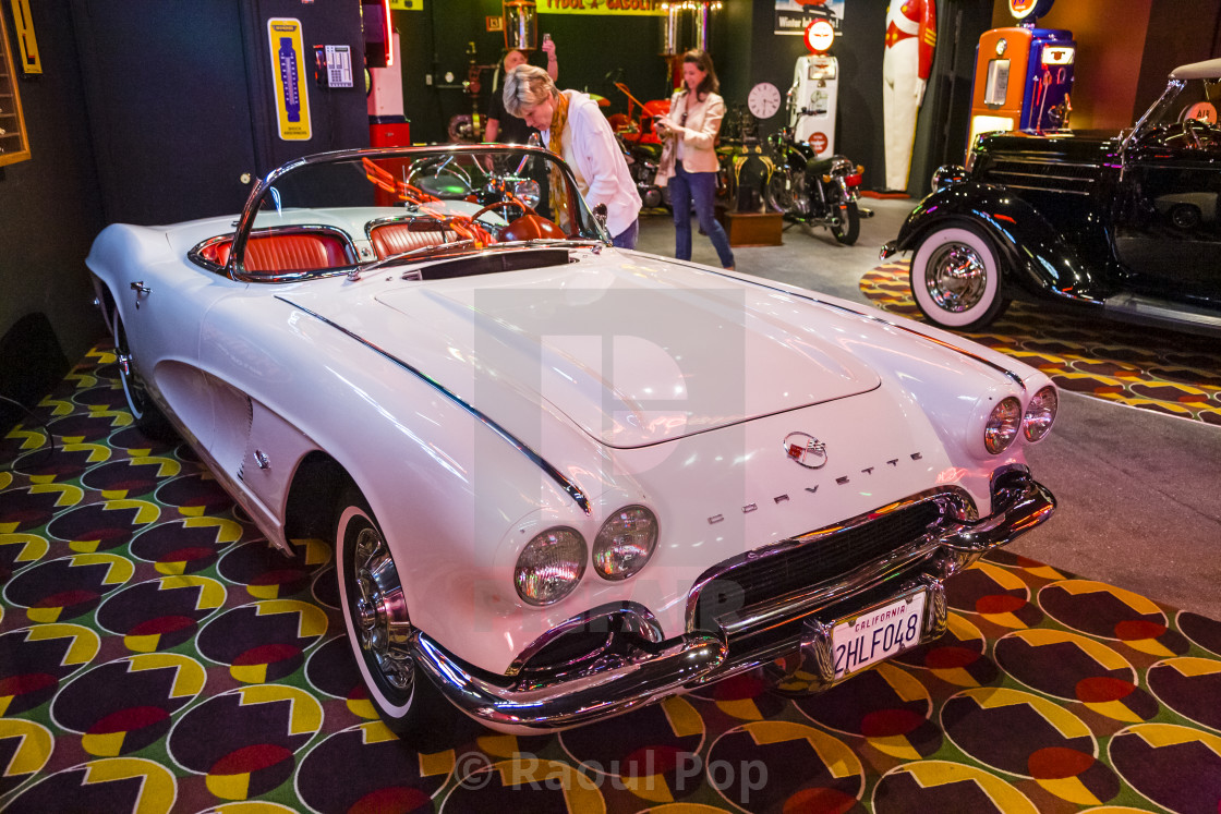 """Corvette Convertible"" stock image"