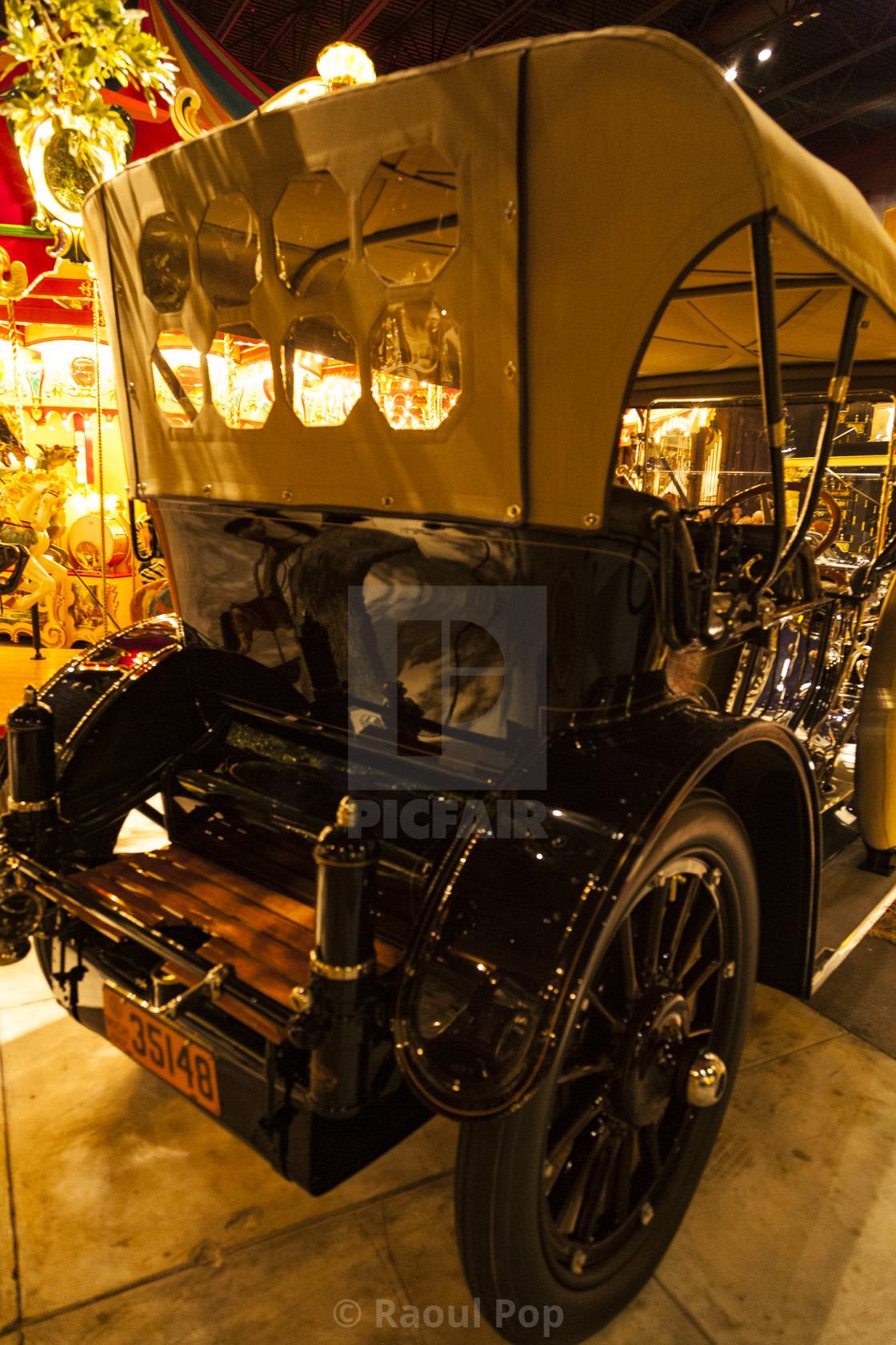 """1912 Oldsmobile Limited Touring"" stock image"