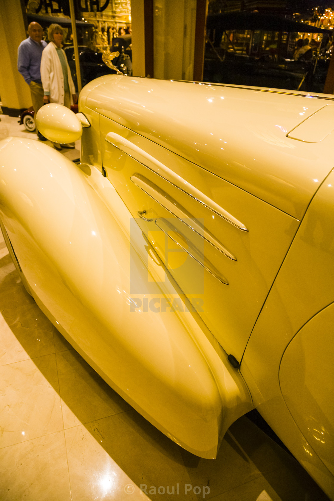 """""""1934 V-16 Cadillac Roadster by Fleetwood"""" stock image"""
