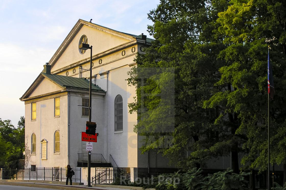 """An historic church"" stock image"