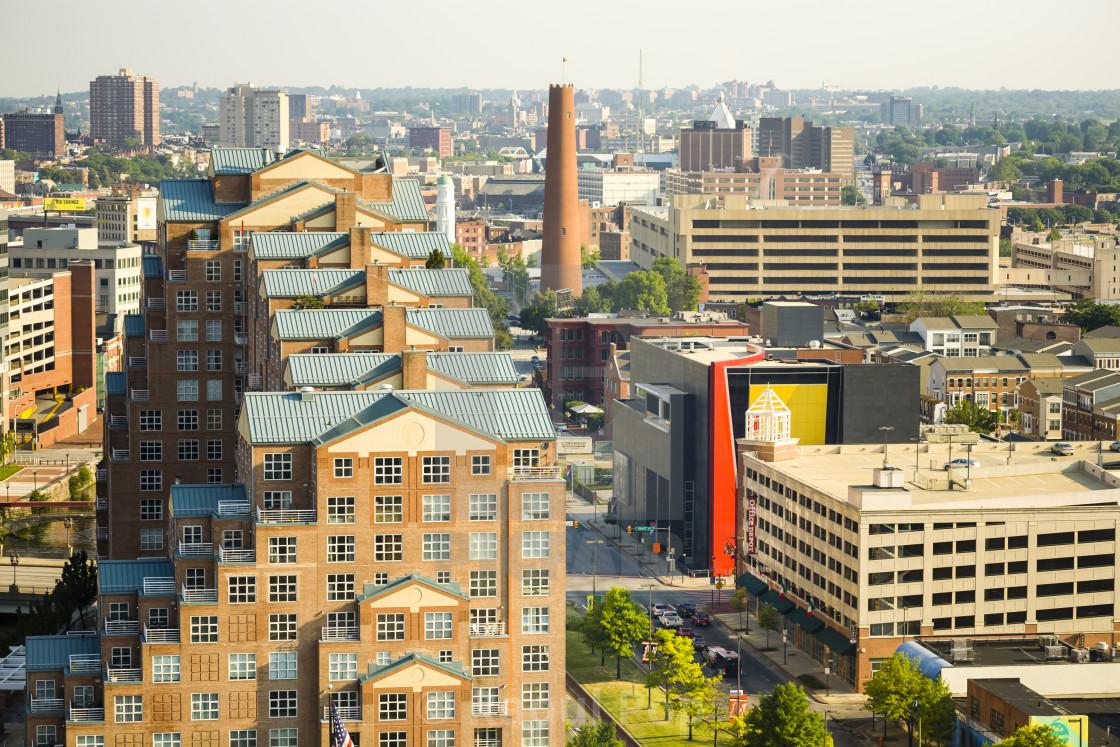 """Downtown Baltimore"" stock image"