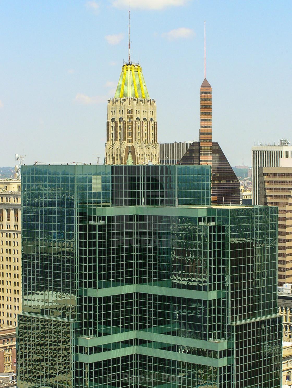 """Baltimore skyline"" stock image"