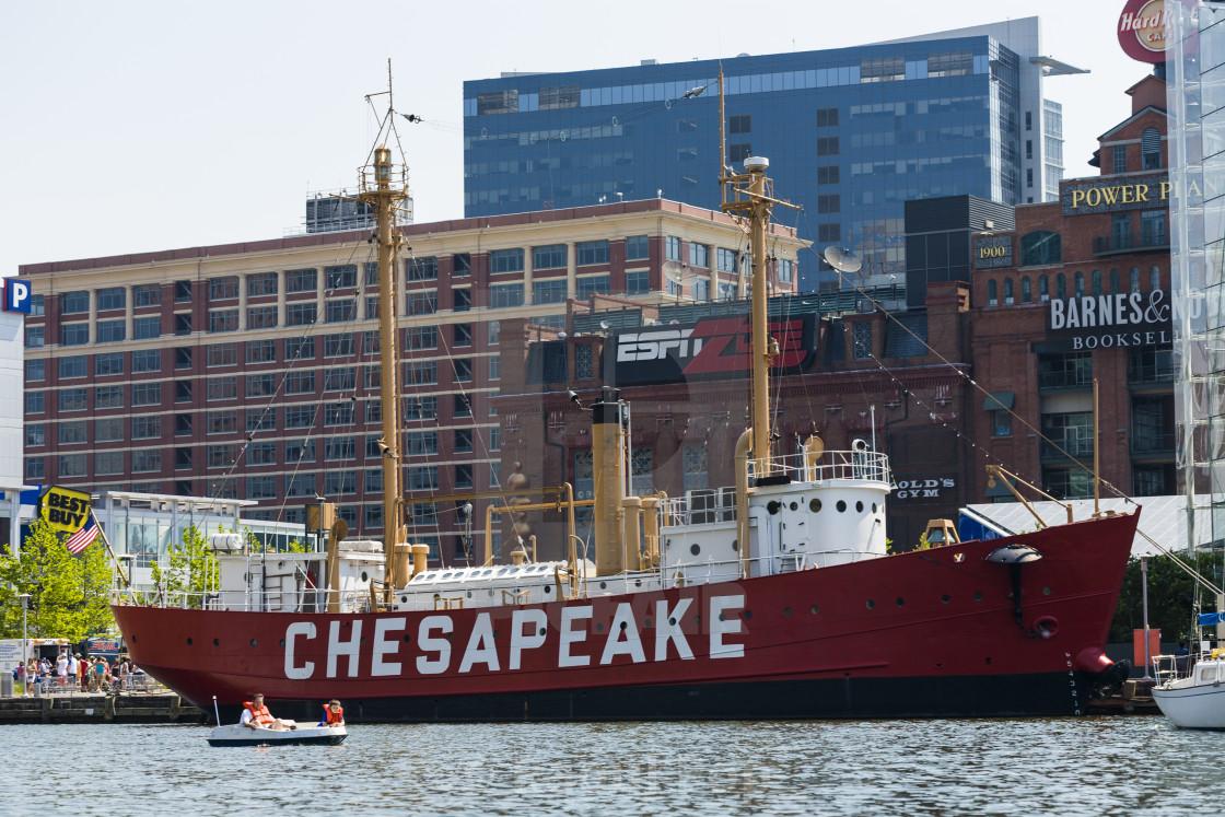 """""""The Chesapeake"""" stock image"""