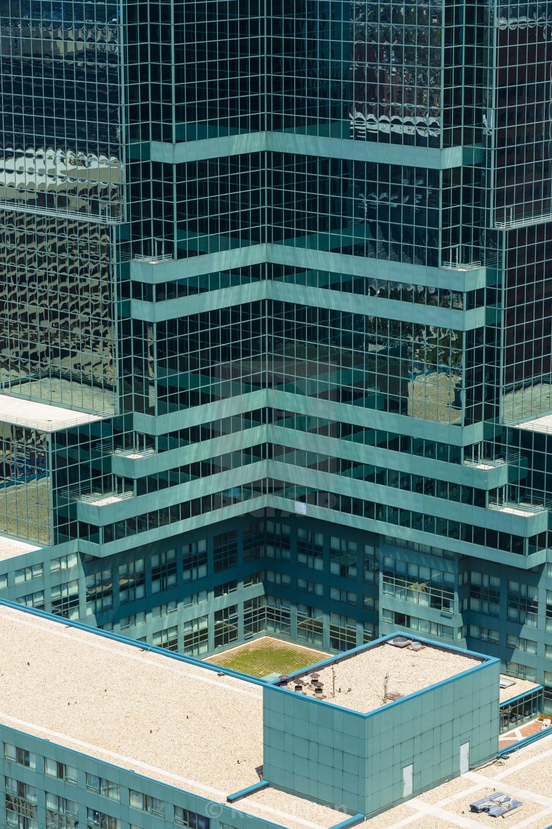 """""""A blue skyscraper"""" stock image"""