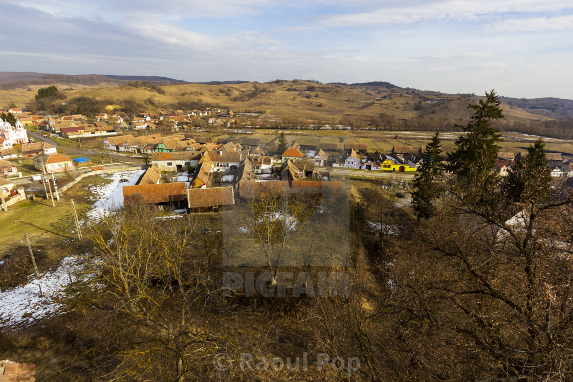 """""""A view of Pelisor"""" stock image"""