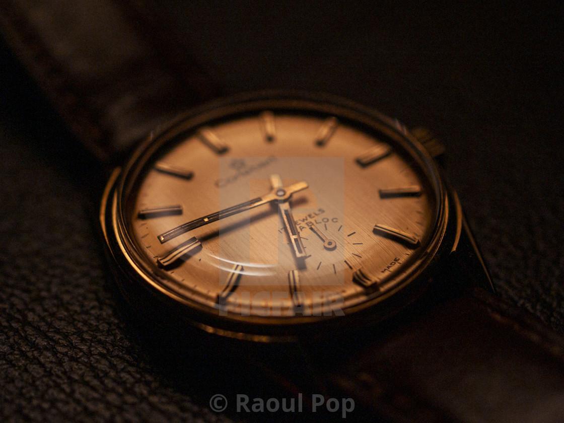 """A Cortebert wristwatch"" stock image"