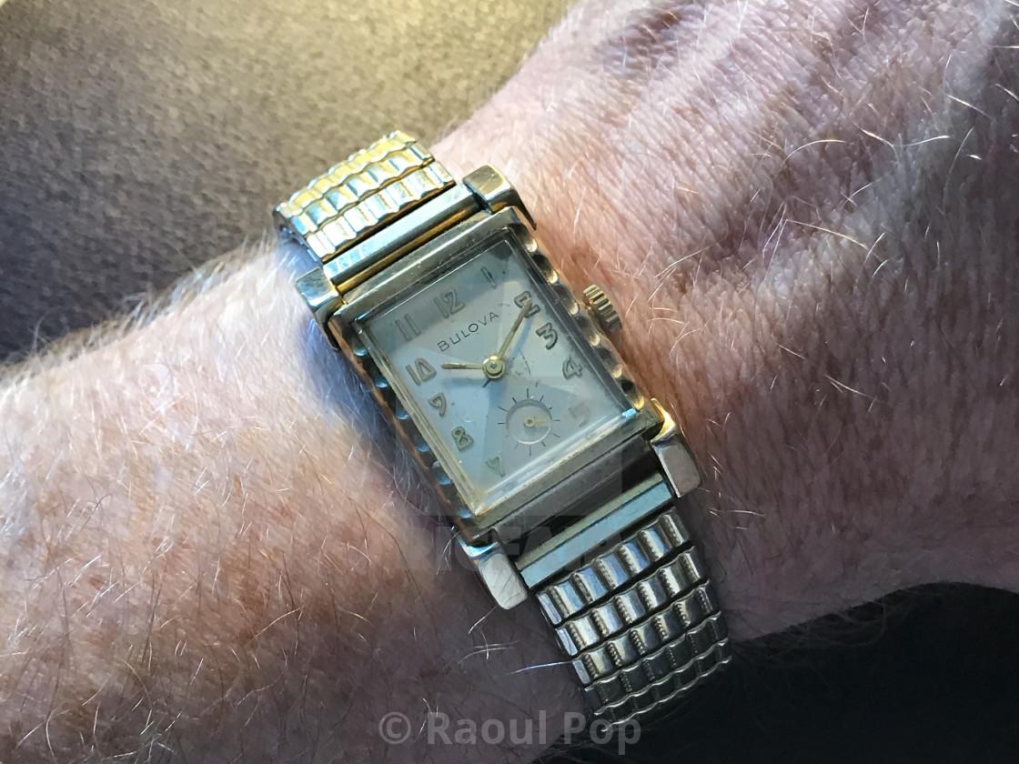 """A Bulova L4 watch"" stock image"