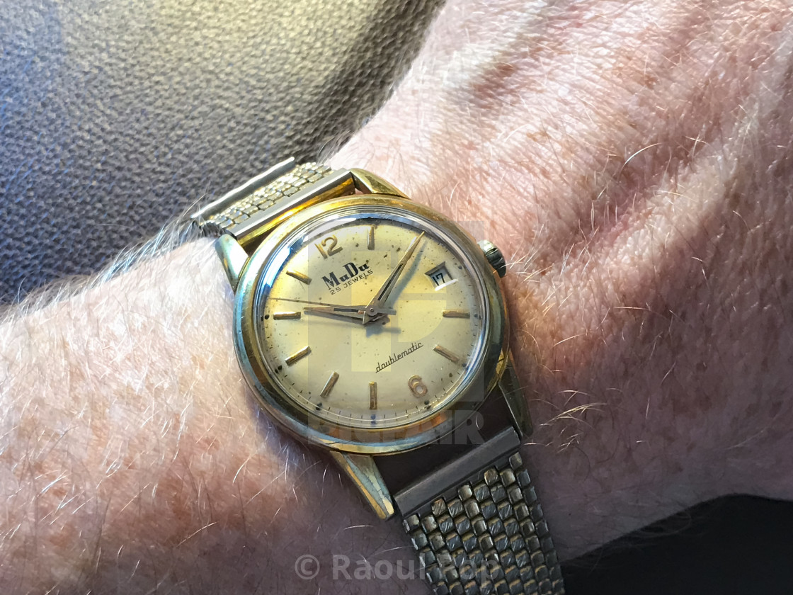 """""""A MuDu Doublematic watch"""" stock image"""