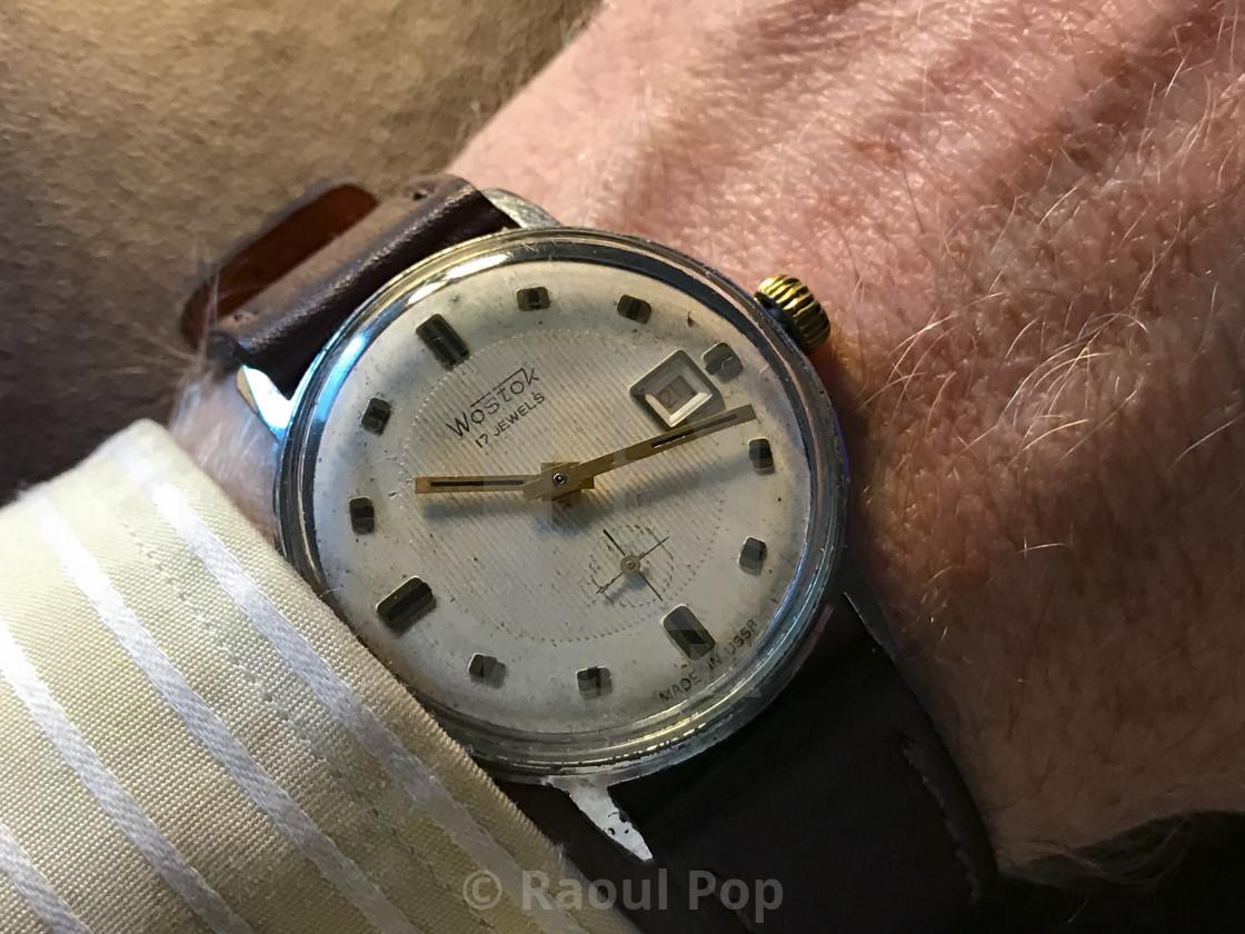 """A Wostok watch"" stock image"