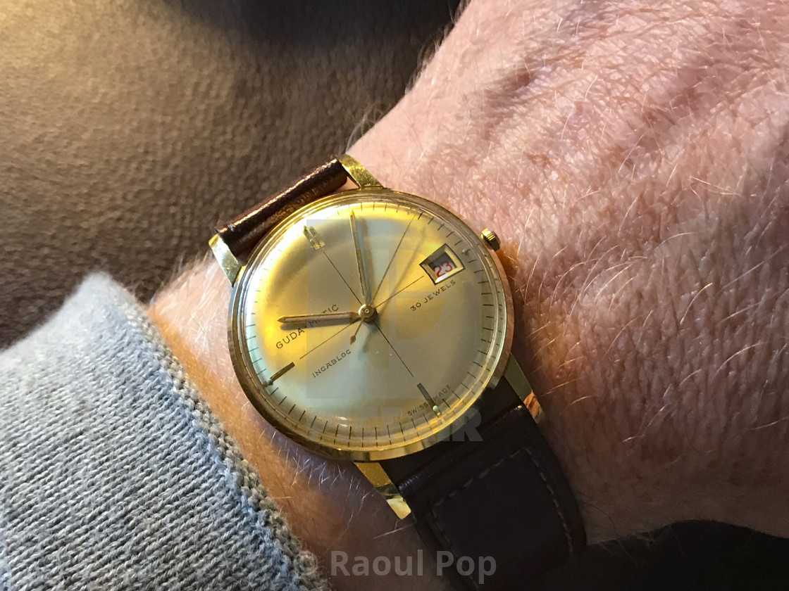 """A Guda-Matic watch"" stock image"