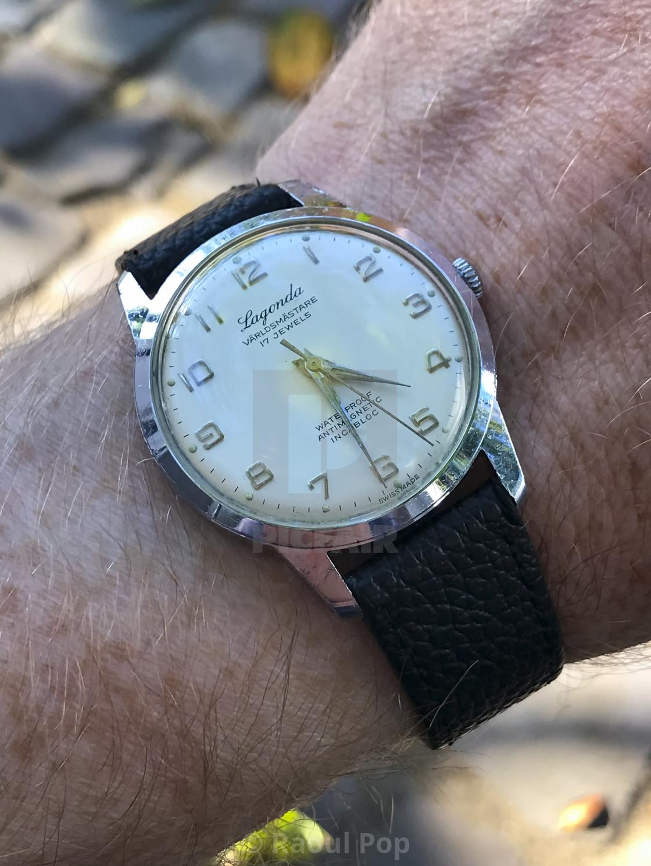 """""""A Lagonda Världsmästare watch"""" stock image"""