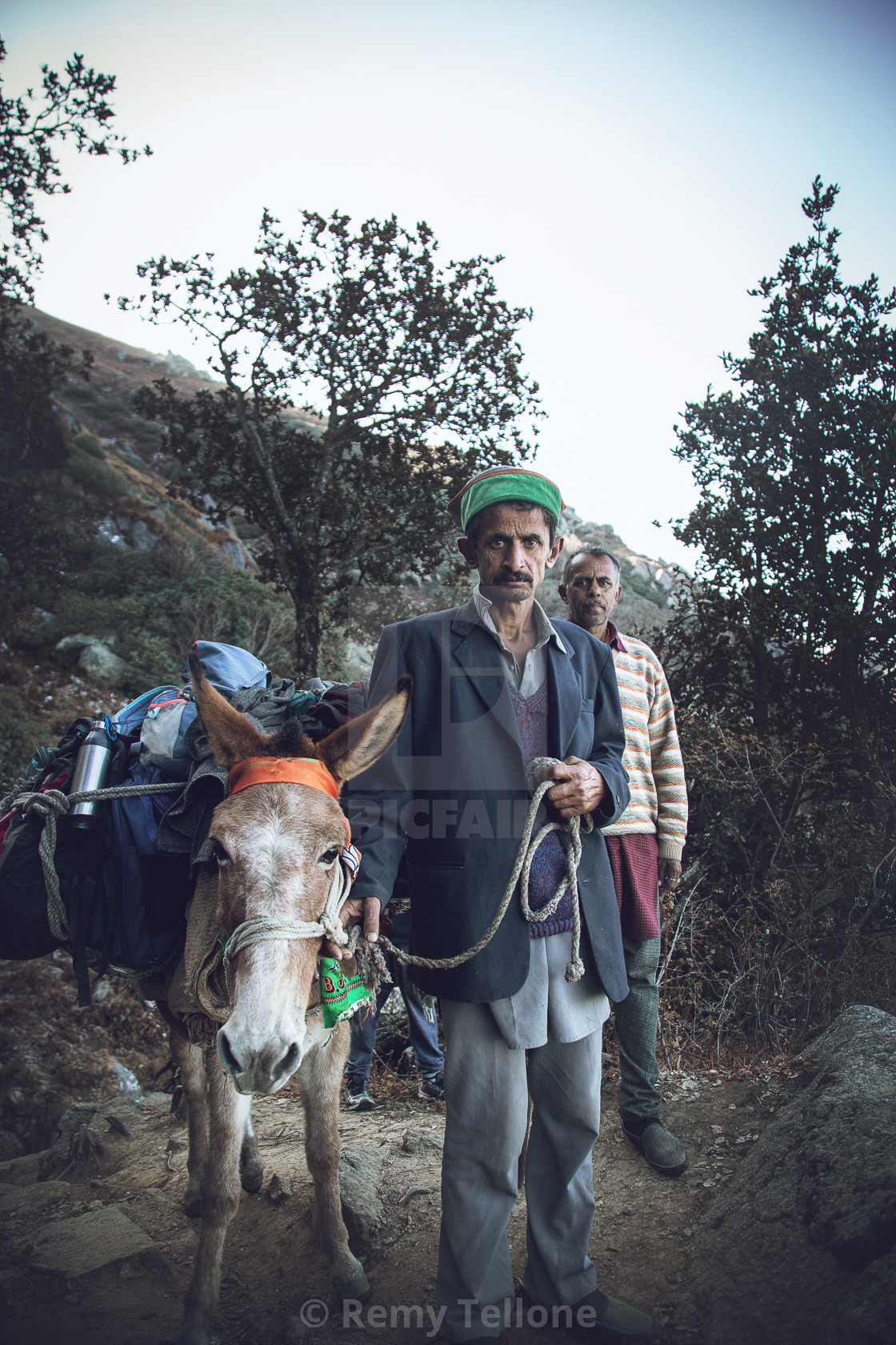 """""""Himalayan delivery"""" stock image"""