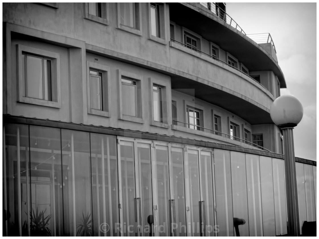 """The Midland Hotel, Morecambe_3"" stock image"