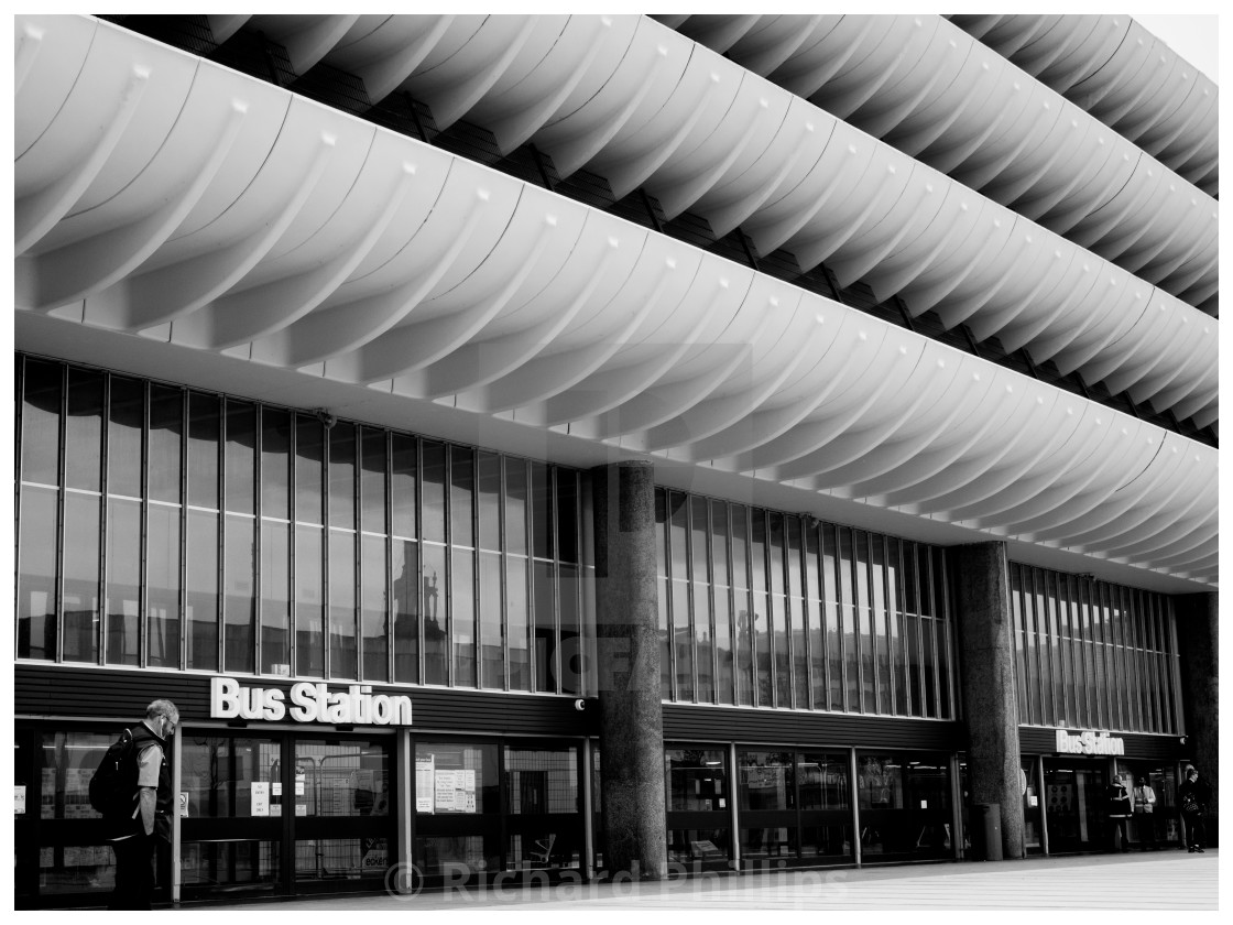 """Preston Bus Station_1"" stock image"