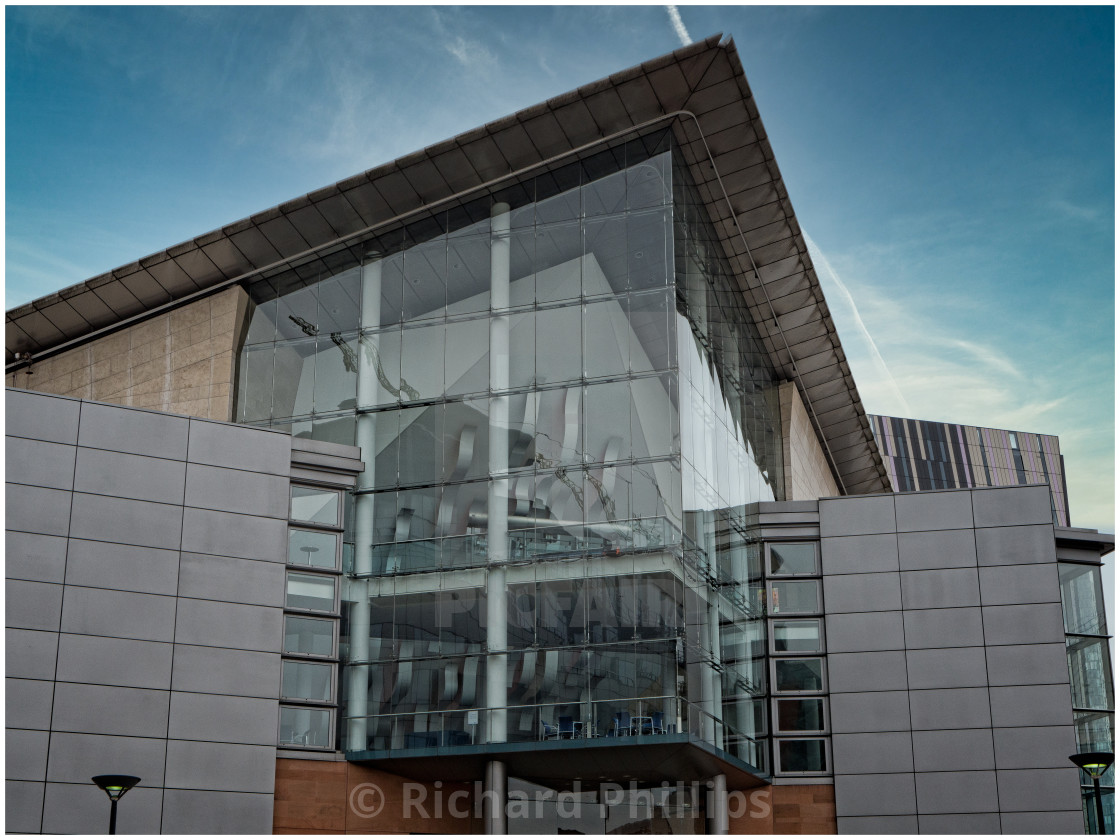 """The Bridgewater Hall, Greater Manchester_1"" stock image"