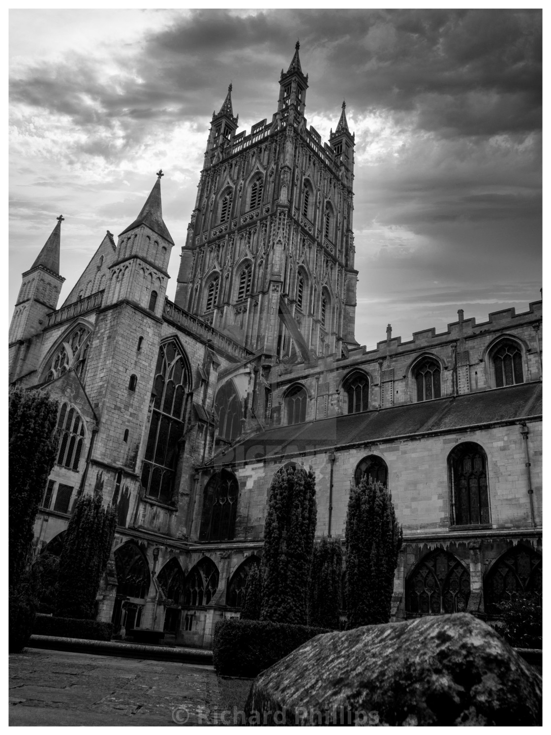 """""""Hereford Cathedral"""" stock image"""