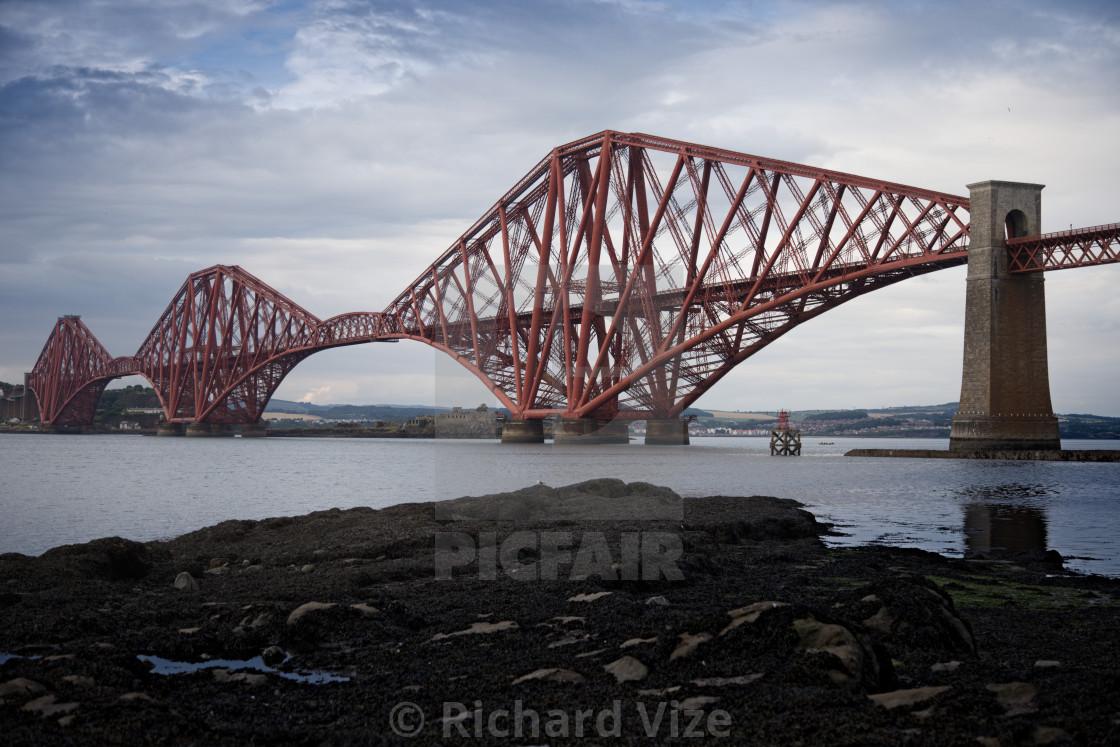 """Forth Bridge, Scotland"" stock image"