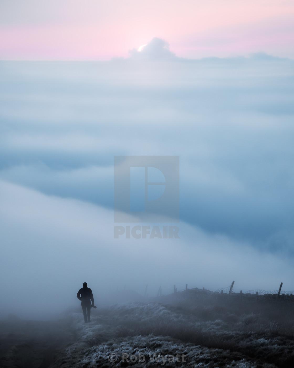 """""""Cloud Man"""" stock image"""