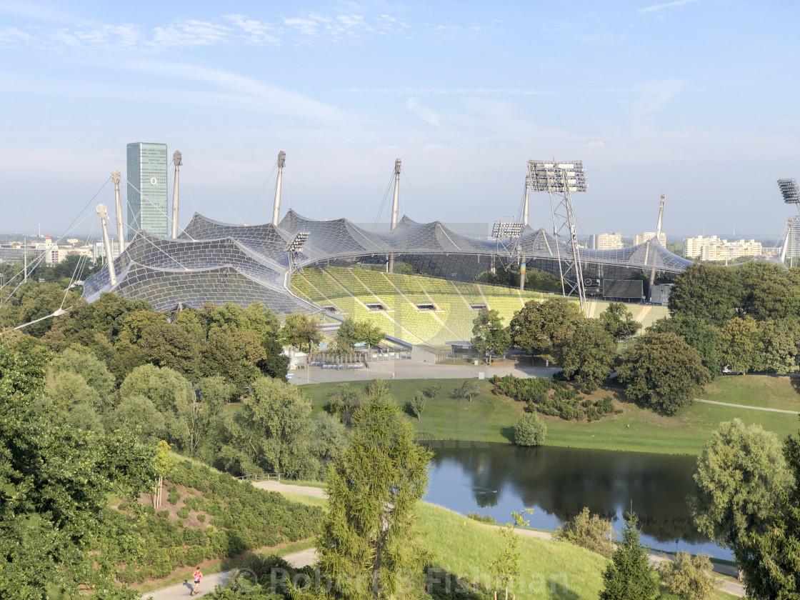 """Olympic Stadium"" stock image"
