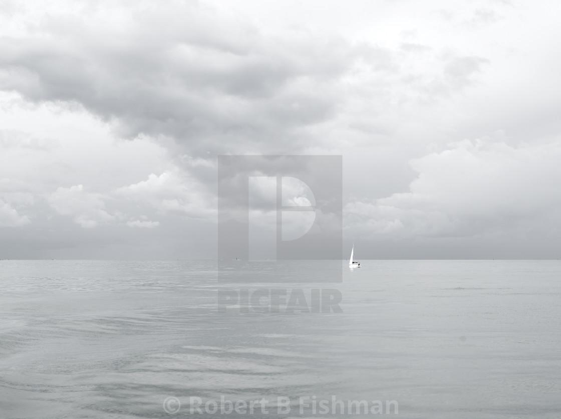 """""""Bay of Cadiz"""" stock image"""