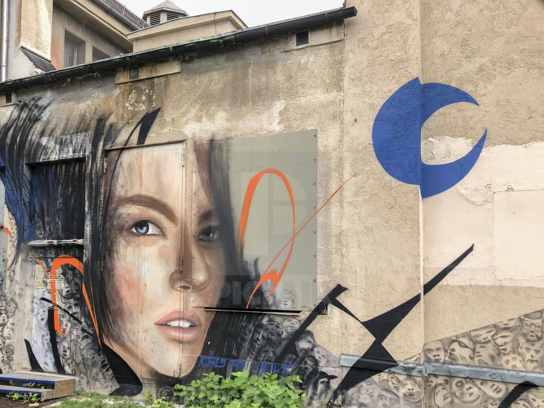 """""""Munich Street Art"""" stock image"""
