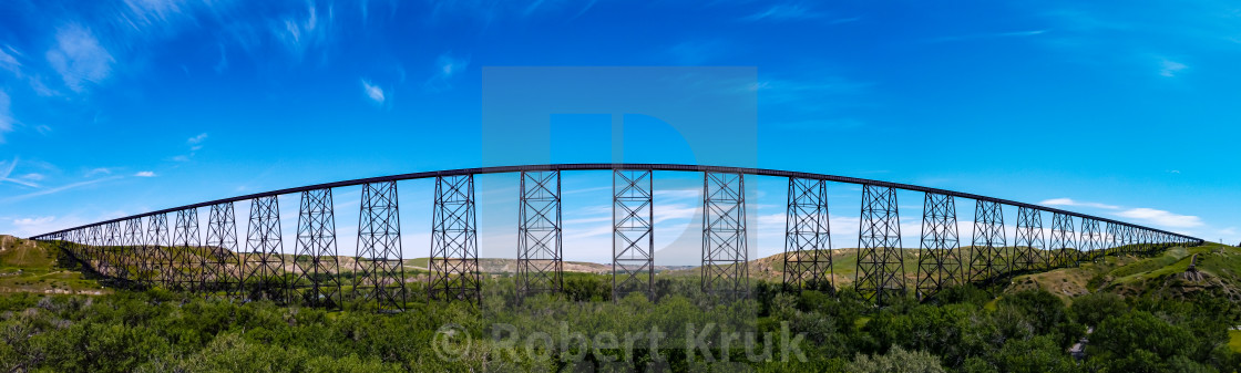 """High Level Bridge"" stock image"