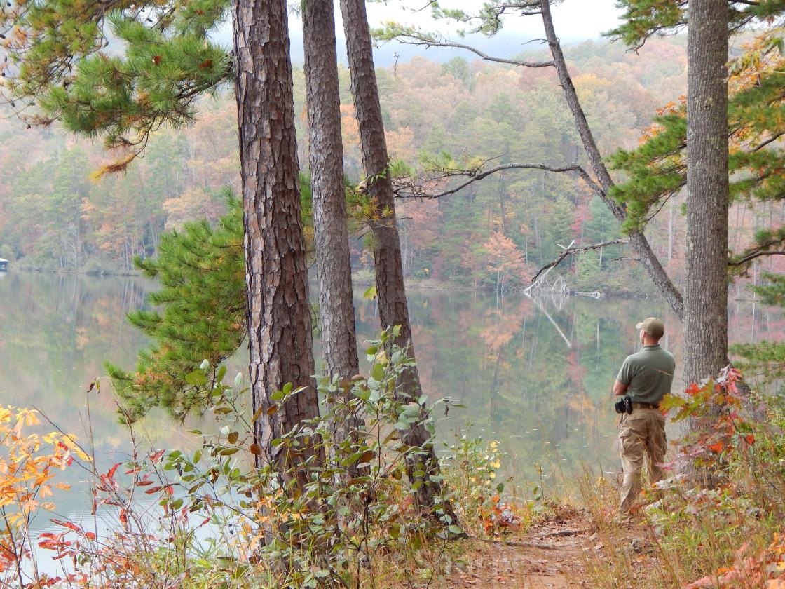 """""""Autumn Overlook"""" stock image"""