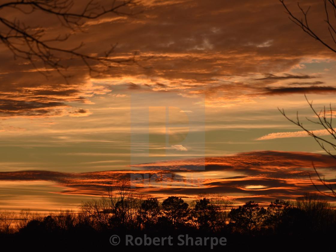 """Mystical Sunset"" stock image"