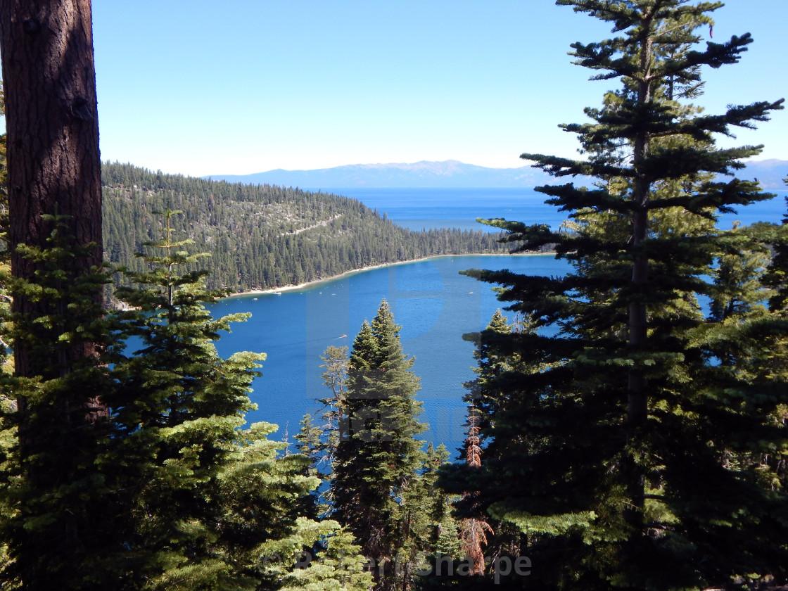 """Lake Tahoe Landscape"" stock image"