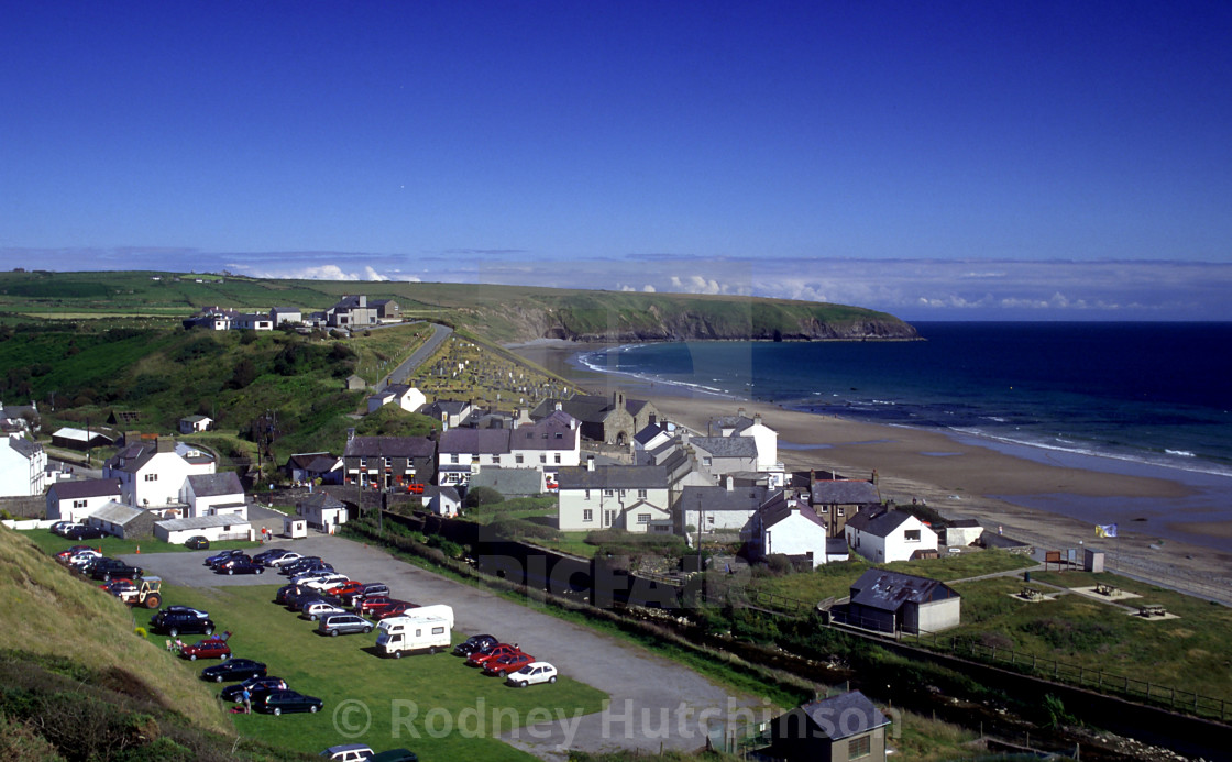 """Aberdaron North Wales"" stock image"