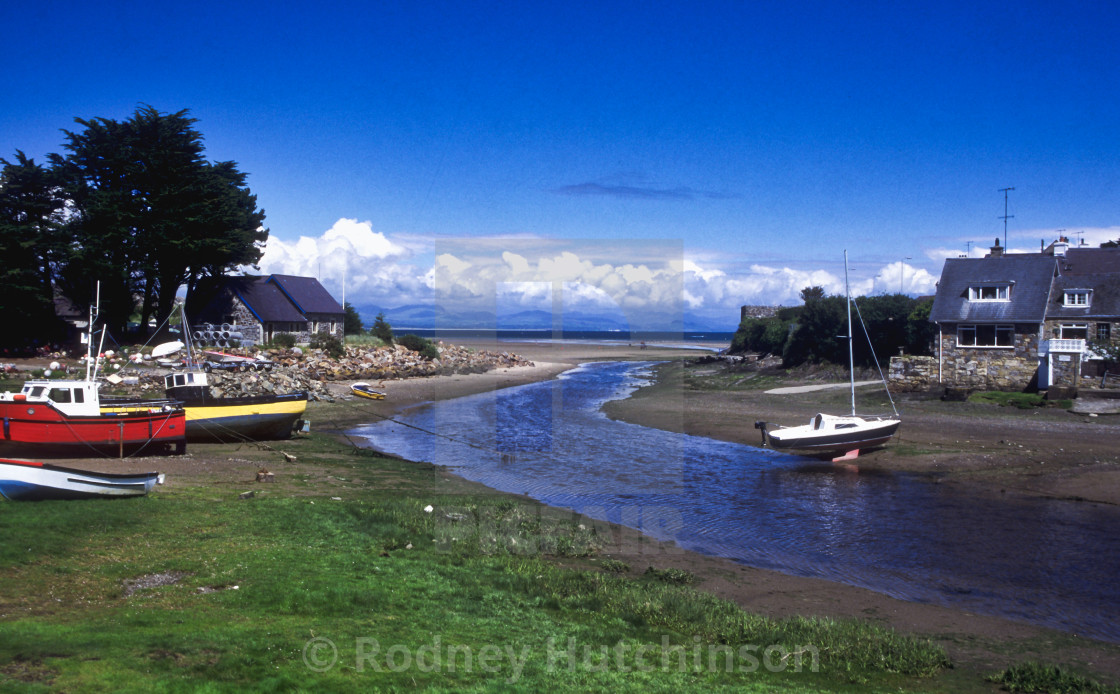 """Abersoch in North Wales"" stock image"