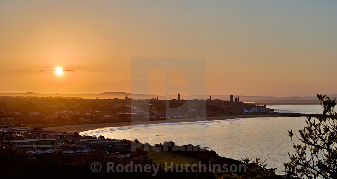 """Fife Sunset"" stock image"